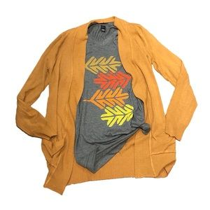 Tops - Fall Leaves Graphic Tee